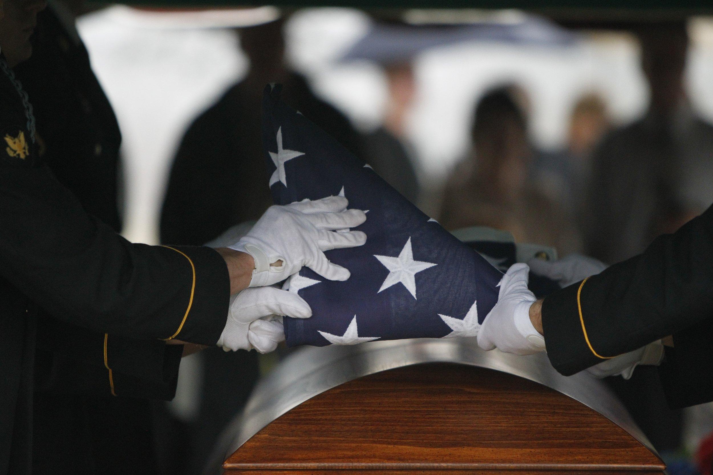 korean war burial