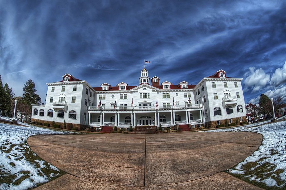 the hotel from the shining and other iconic well