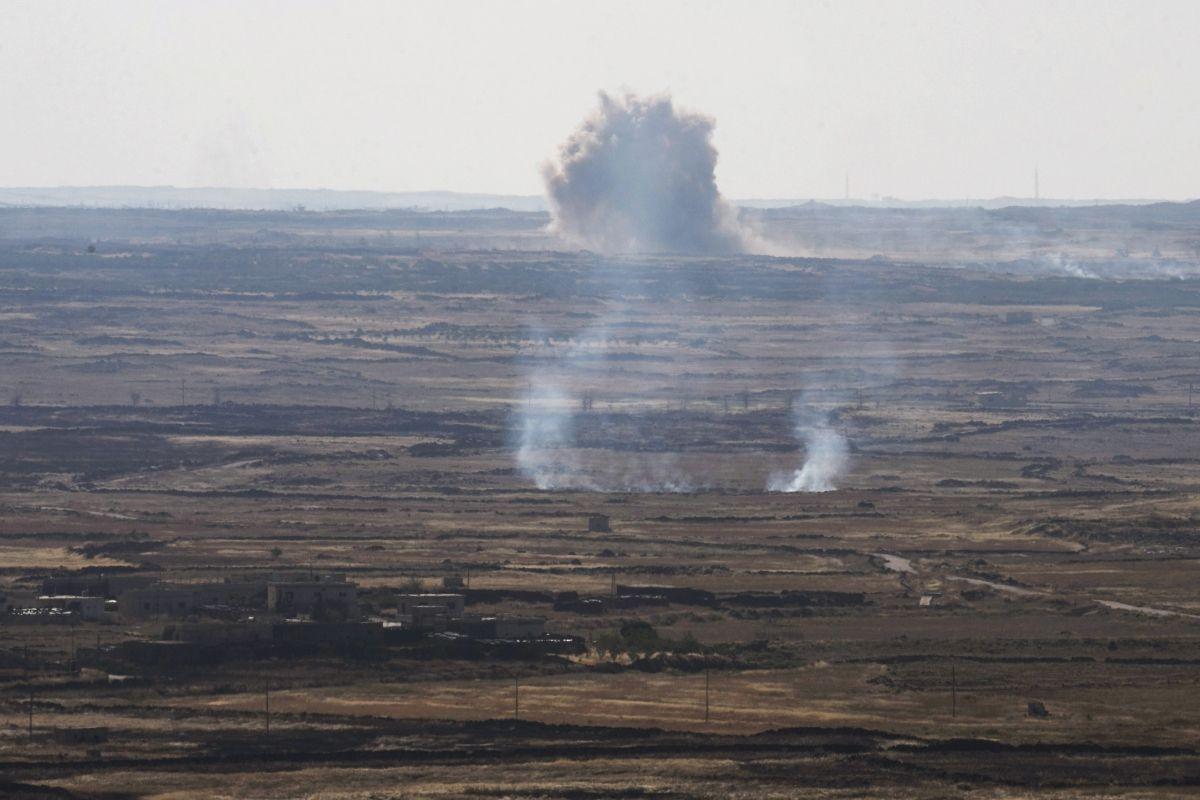 Israel Syria Paraglide Middle East