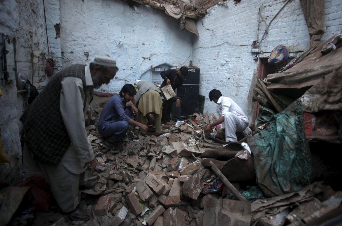 Earthquake Peshawar