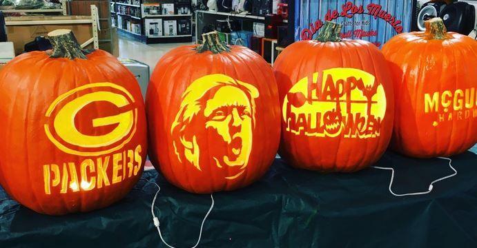 Trumpkins Carving Donald Trump S Face Into Pumpkins Is