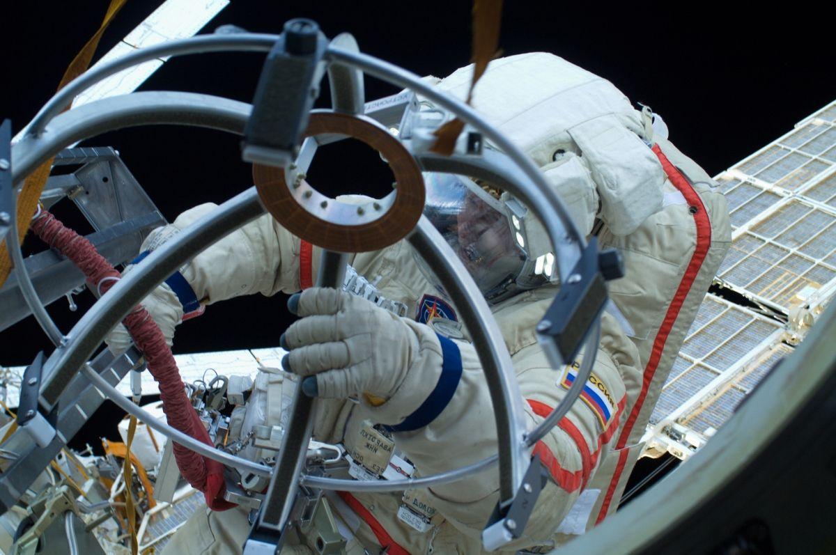 Russia sending cosmonaut to the Moon.
