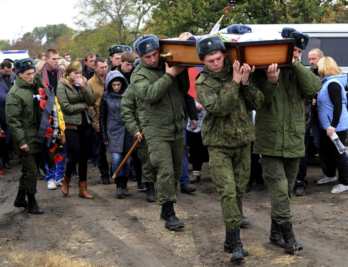 Mysterious death of Russian soldier
