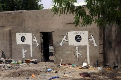 Boko Haram wall