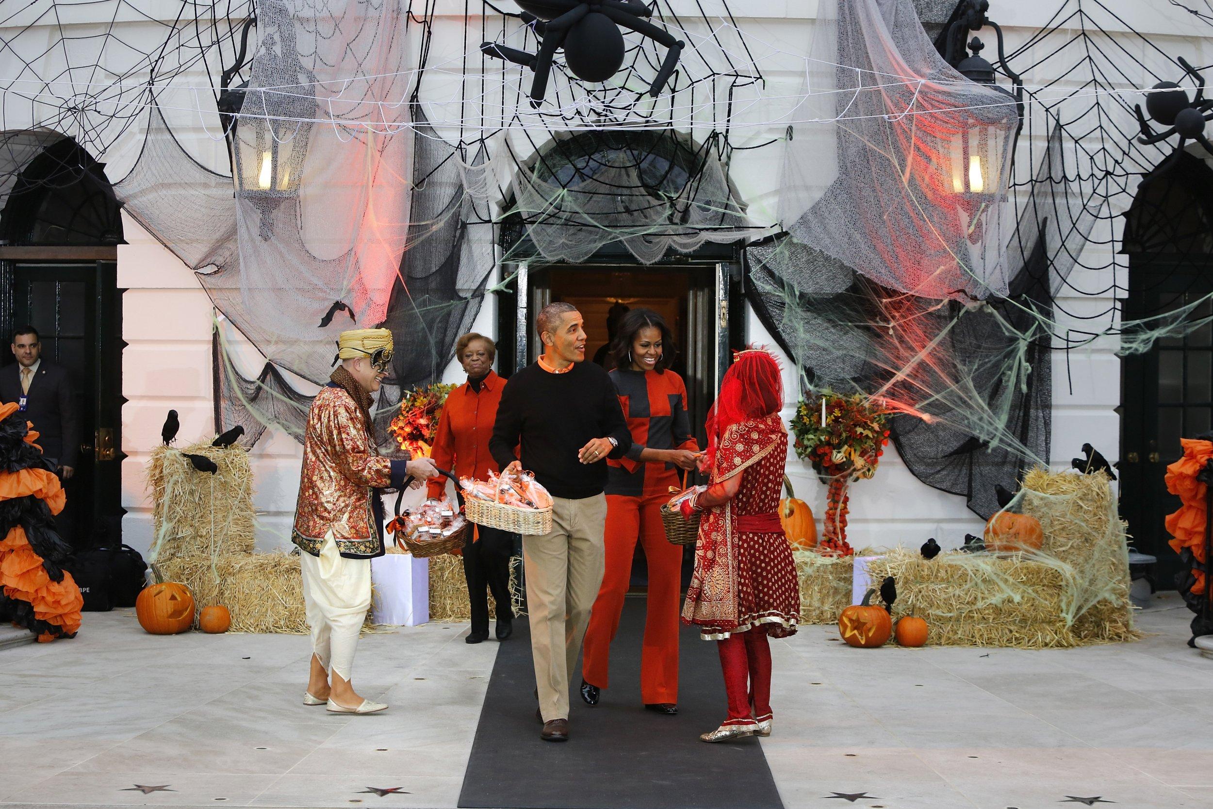 halloween white house