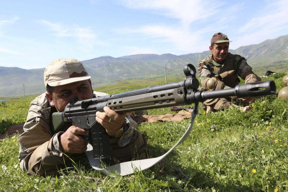 Kurdish Peshmerga need western support