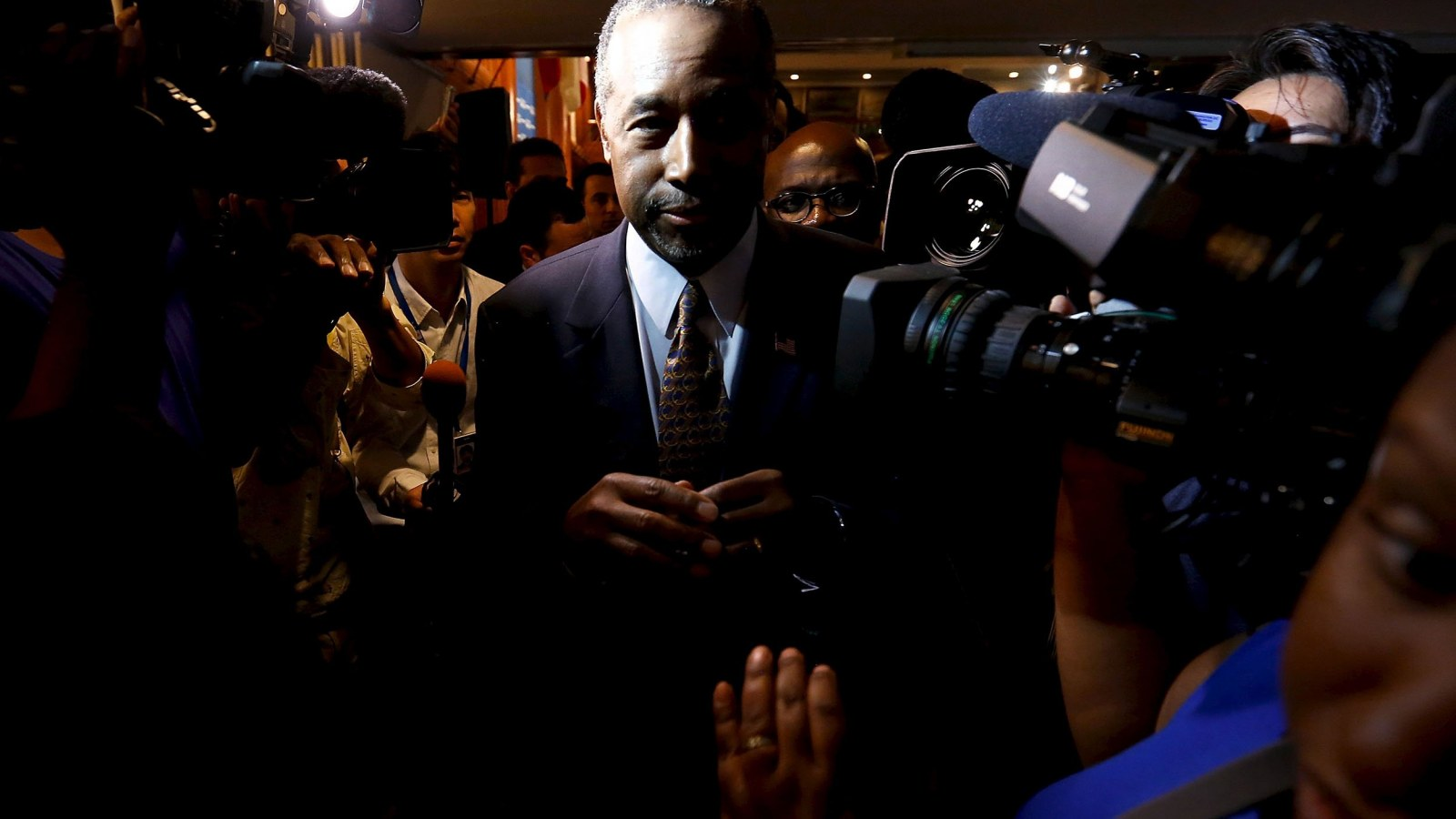 The World Through Ben Carson's Surgical Magnifying Glass