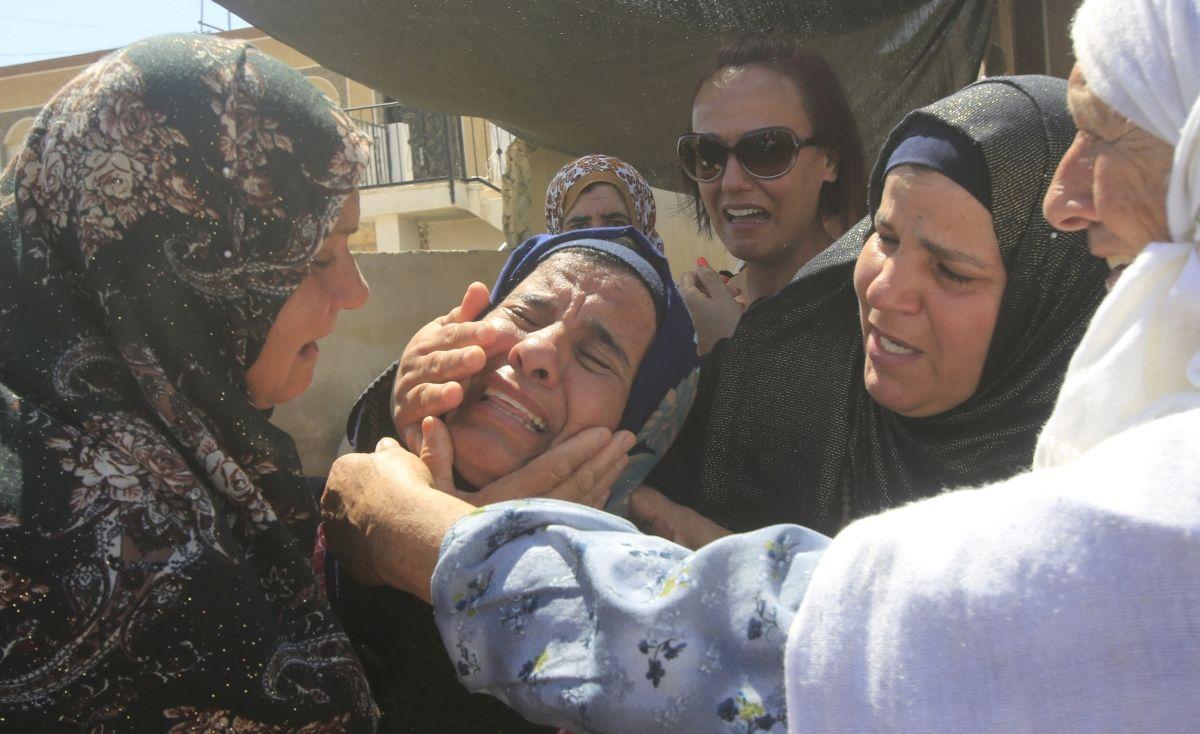 Relatives of Palestinian Saad Dawabshe