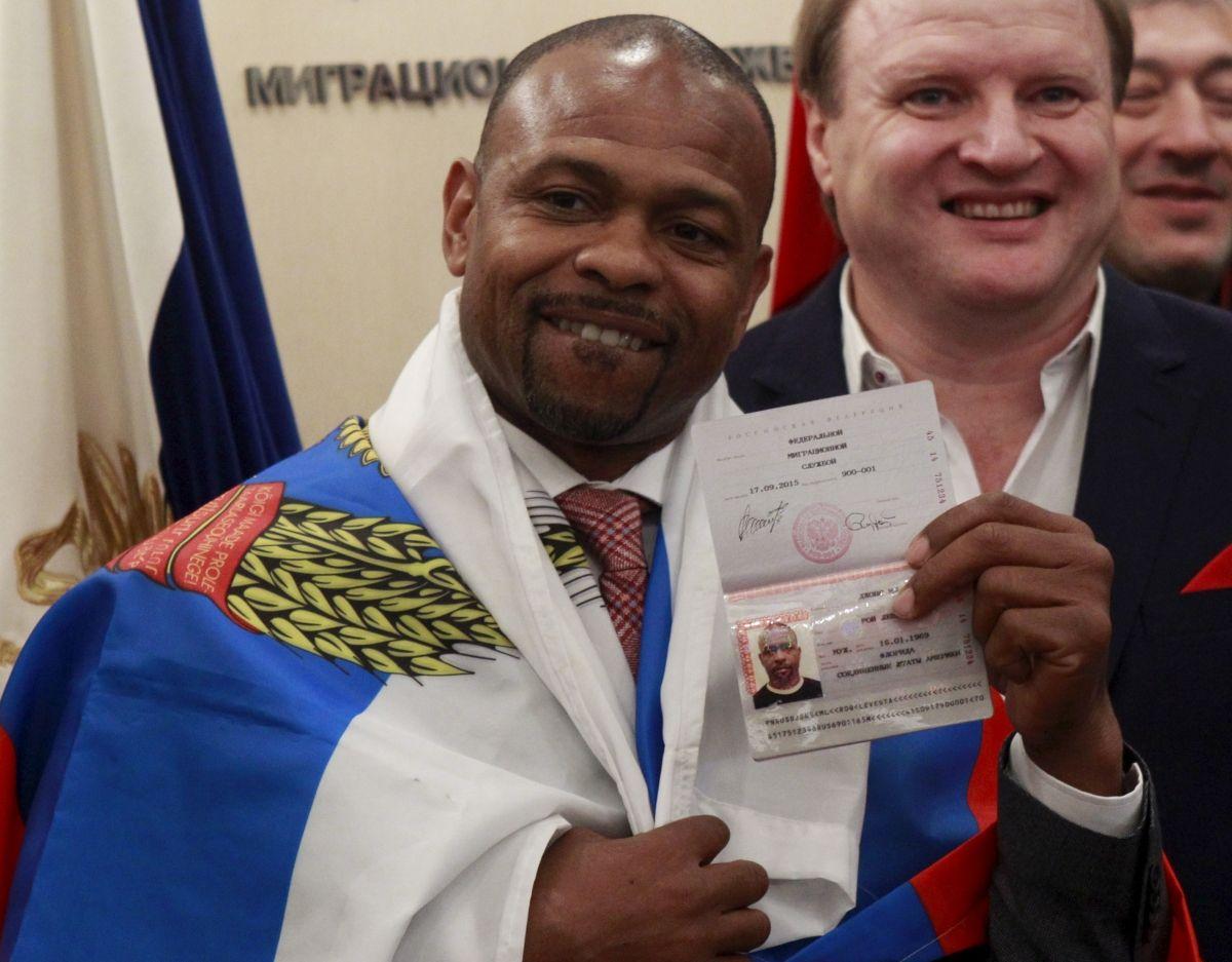 Roy Jones biopic Russia passport