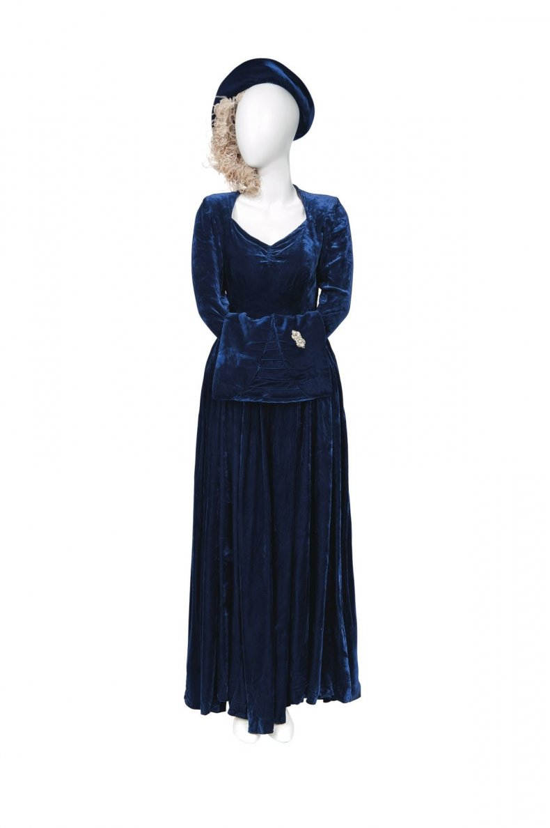 Margaret Thatcher's Wedding Outfit