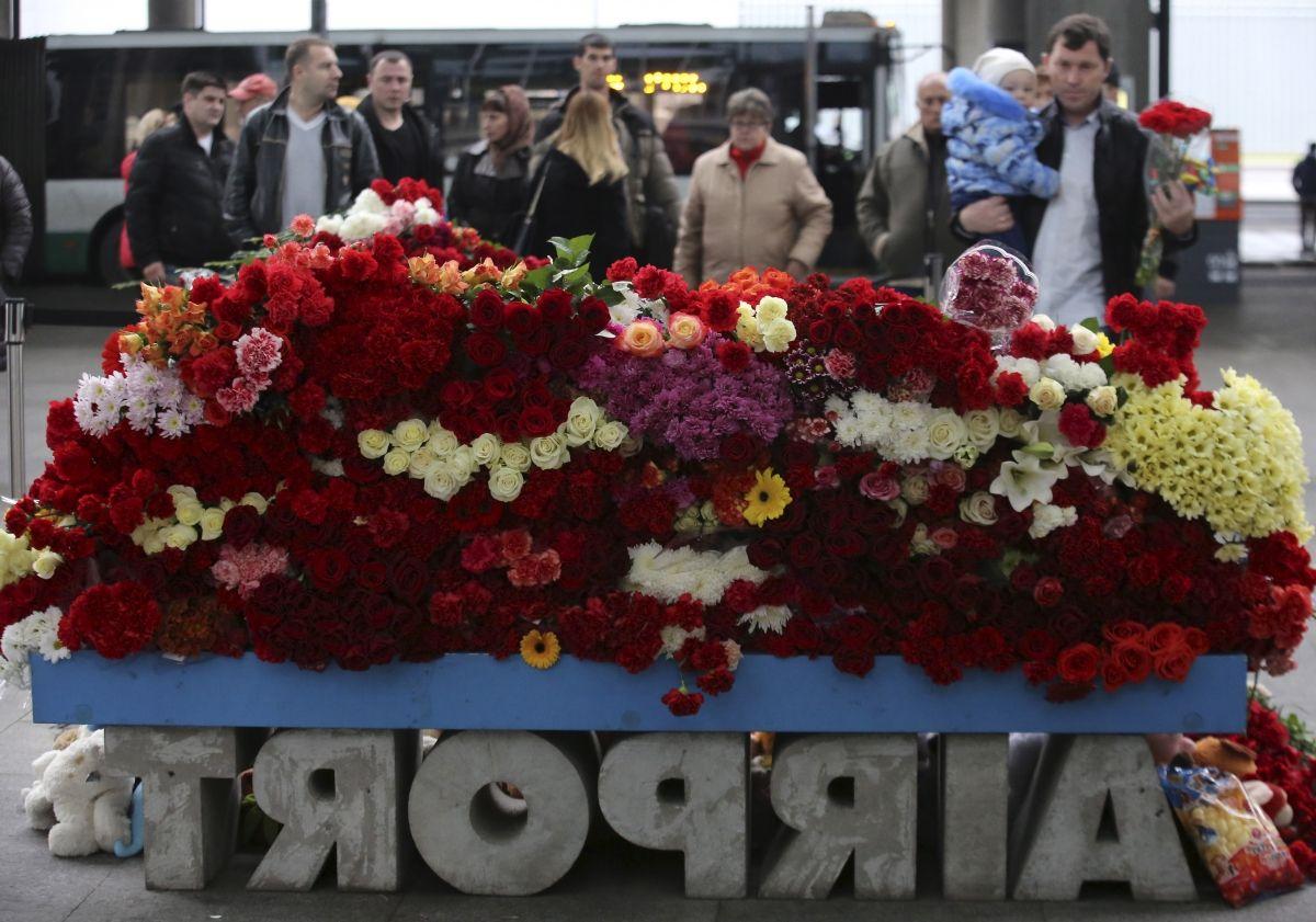 Russian air crash memorial