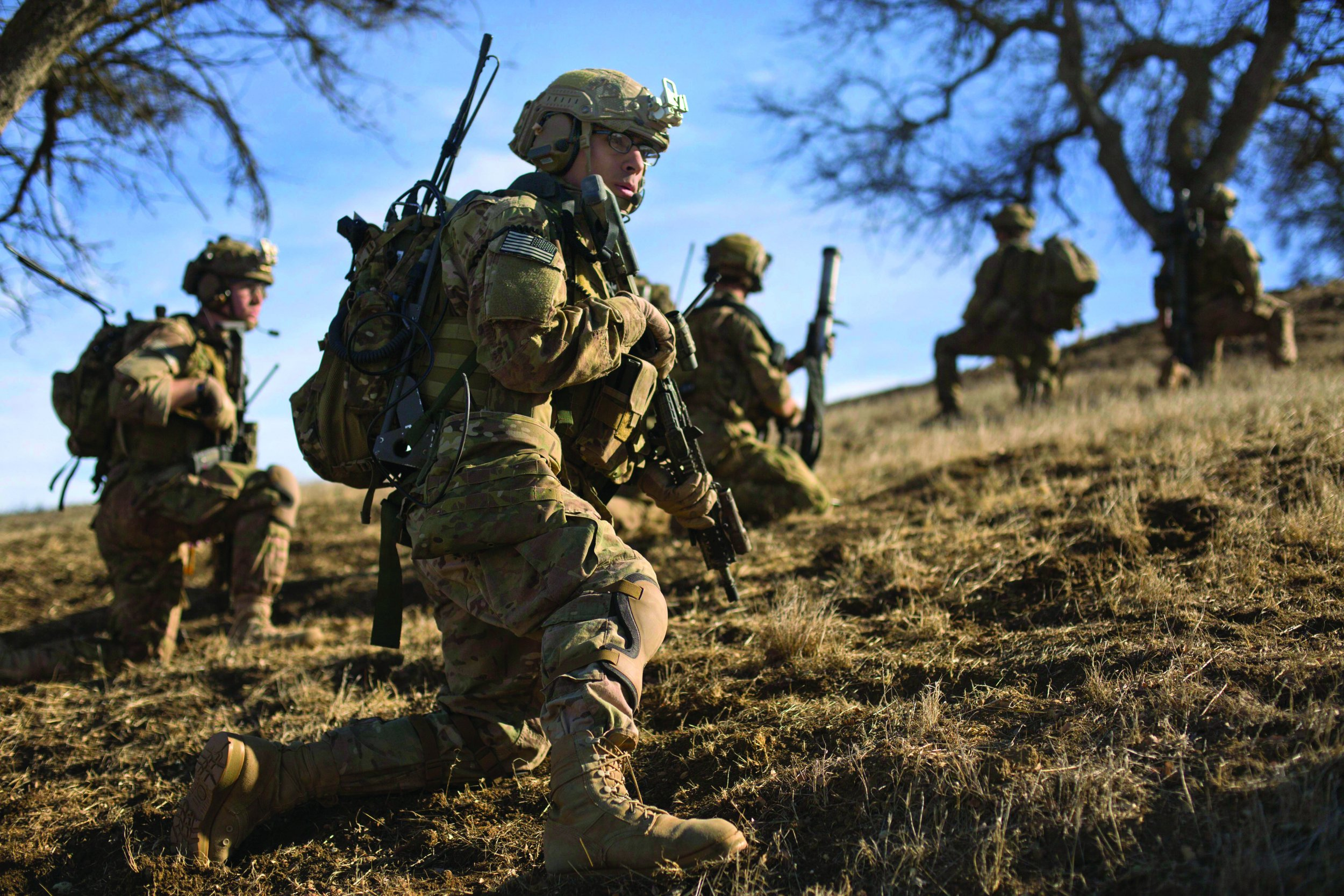 Army Rangers Of Their Own Accord