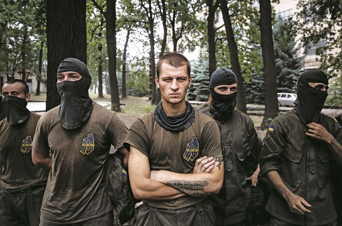 Ukraine's foreign fighters returning