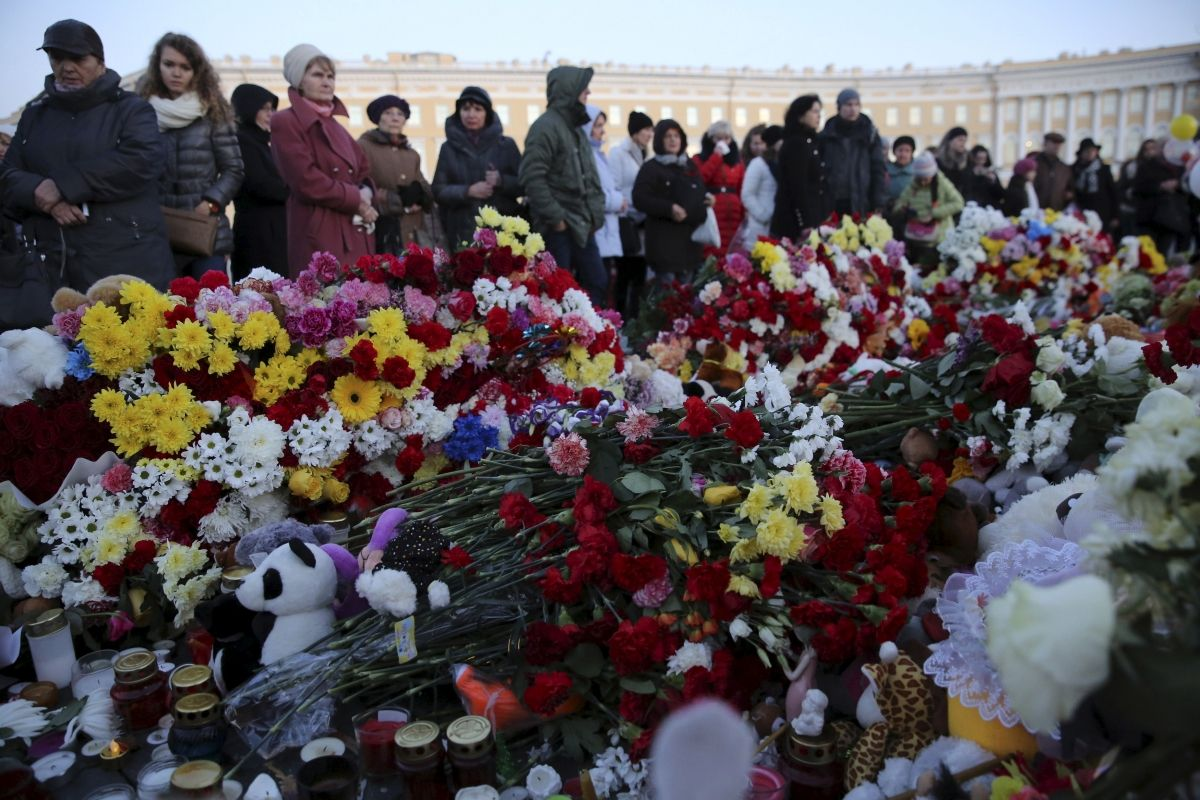 Russian plane crash memorial