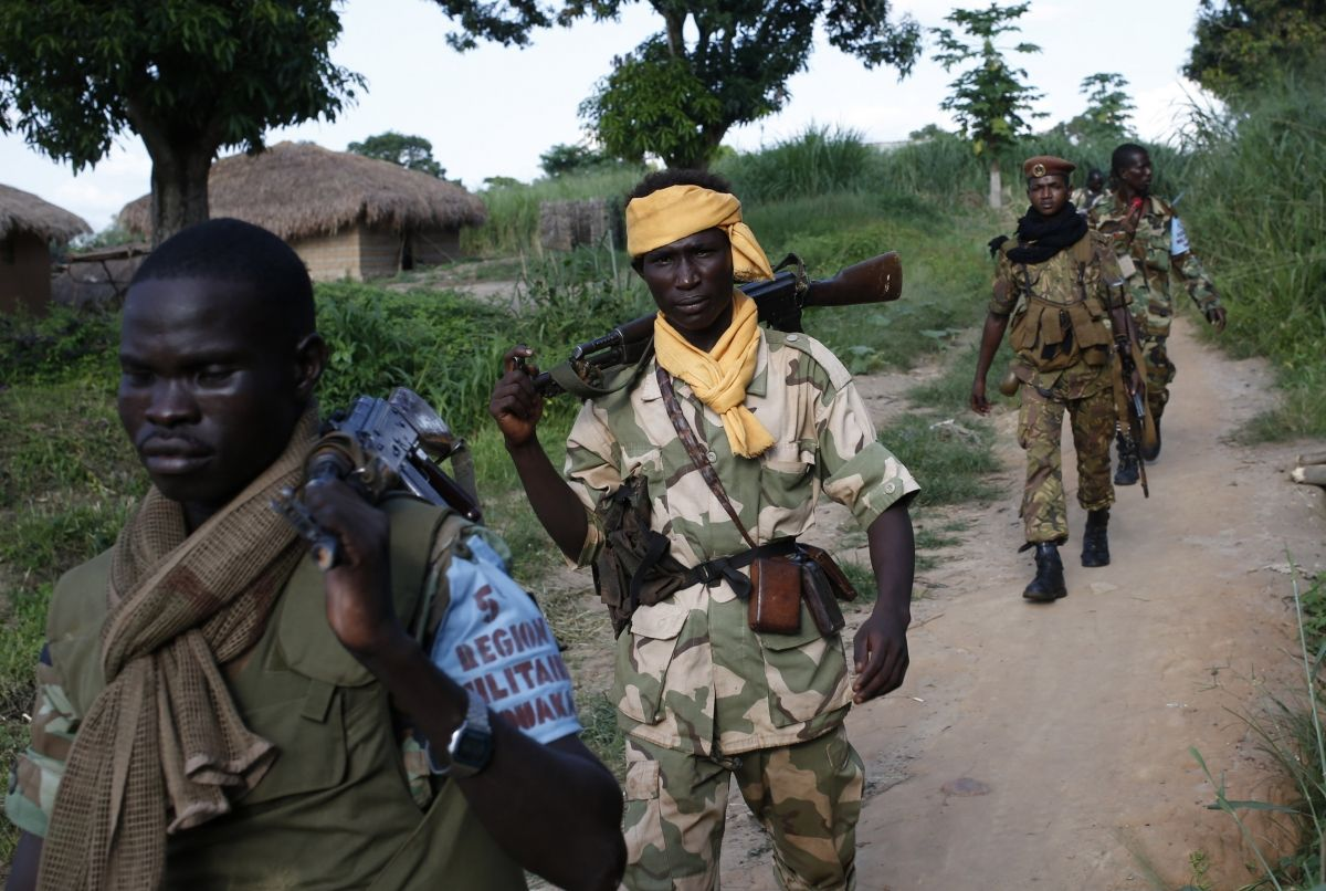 Central African Republic soldiers