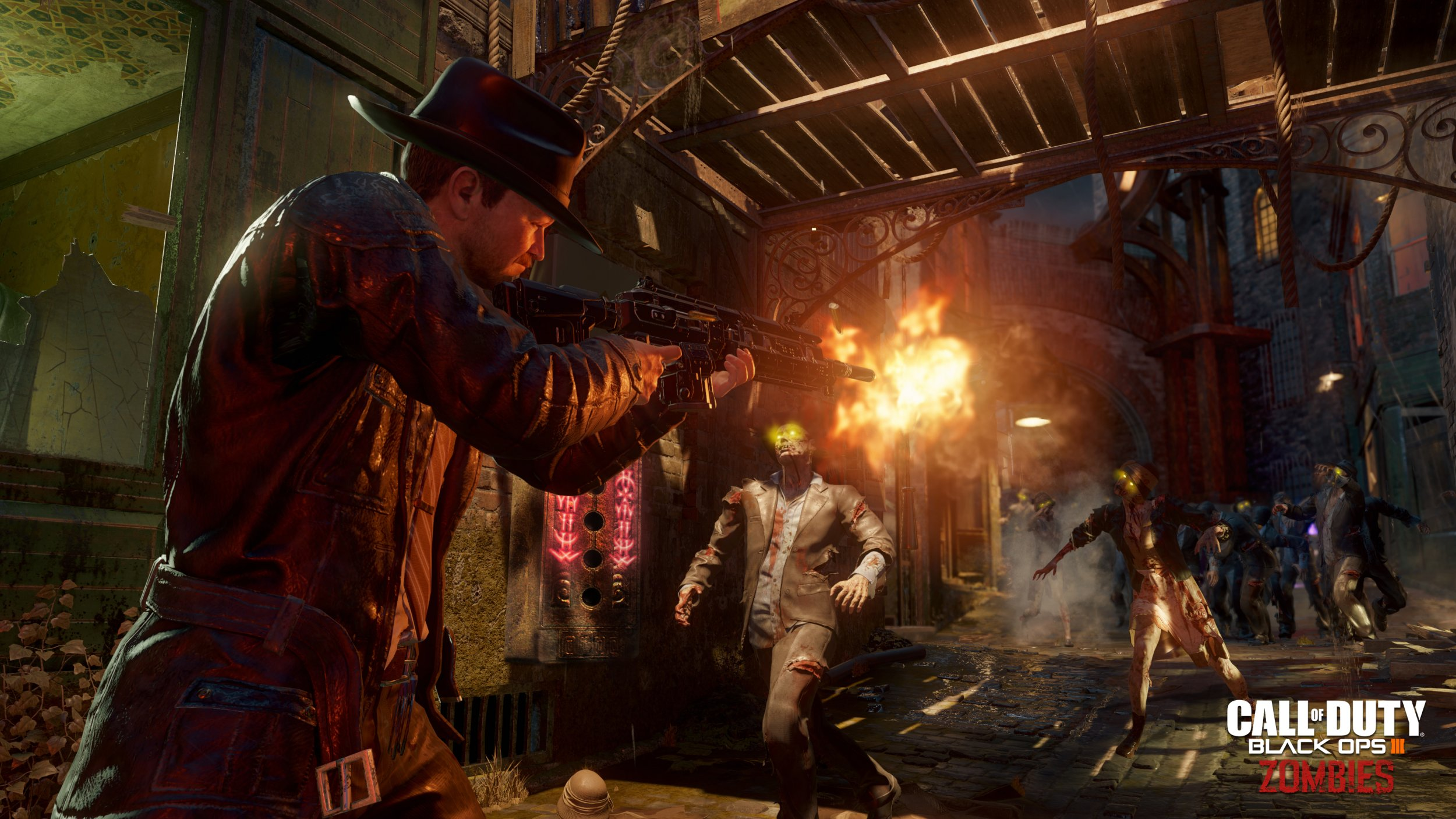 New Call Of Duty Black Ops Game Ups The Zombies And The Graphics