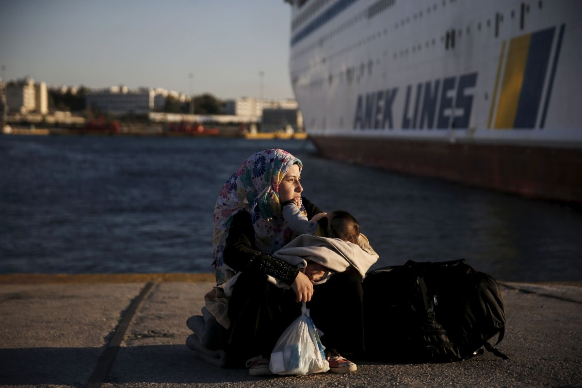 Greek ferry strike
