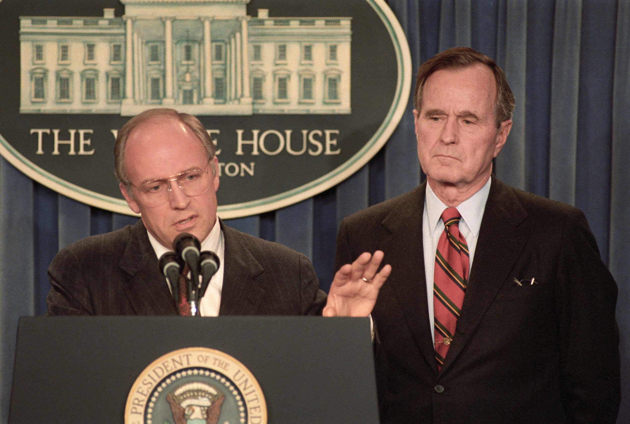 George bush and dick chaney