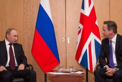 Cameron call Putin Sinai crash