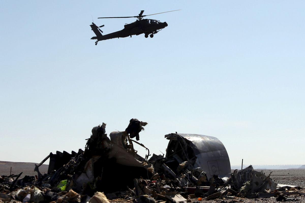 Bomb put in hold of Russian plane