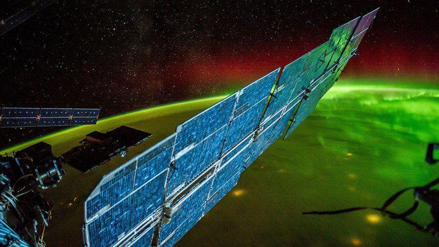 International Space Station ammonia leak