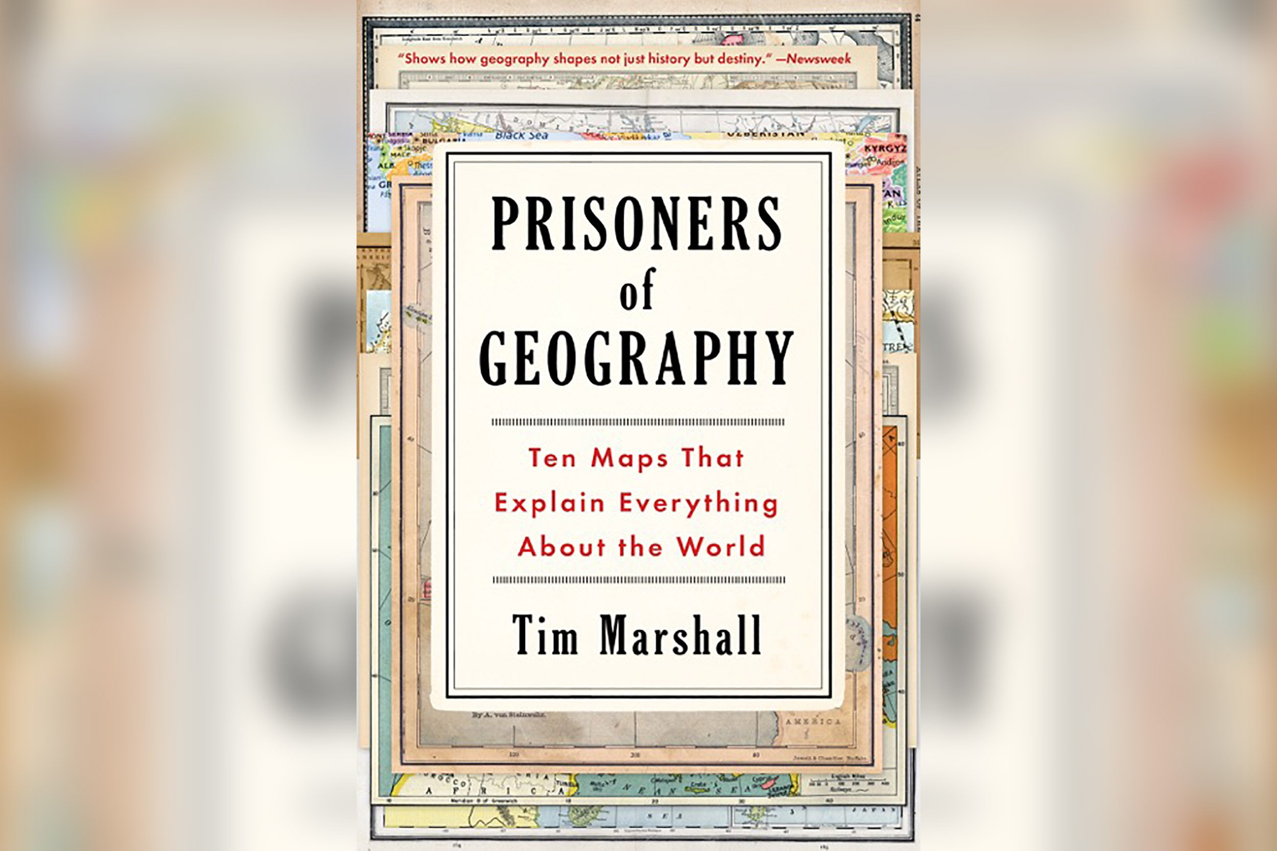 tim marshall prisoners of geography pdf