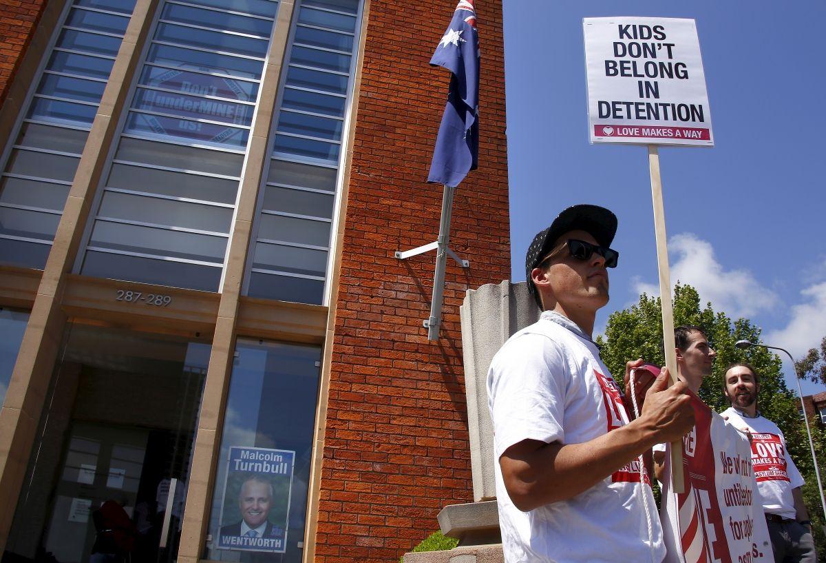 Australia detention center