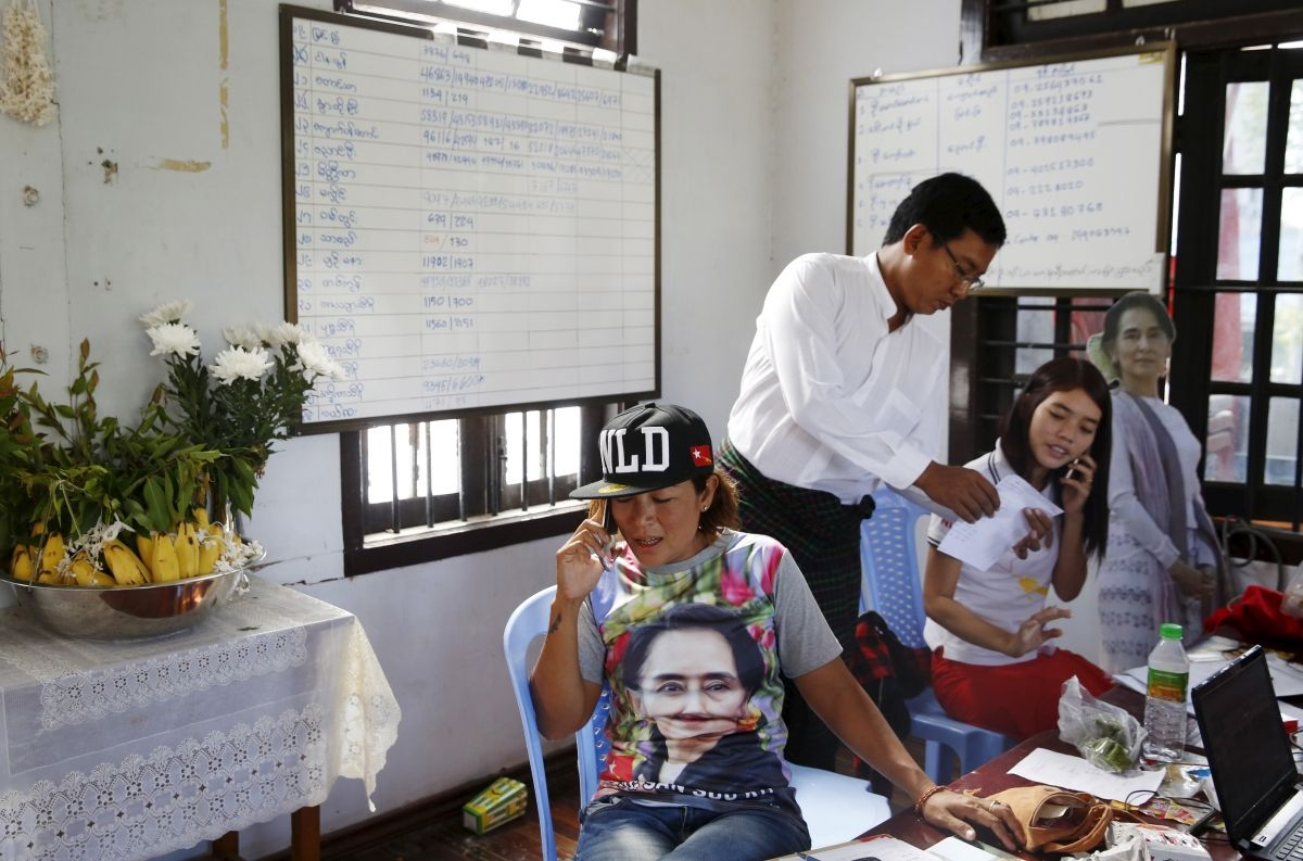 Aung San Suu Kyi election