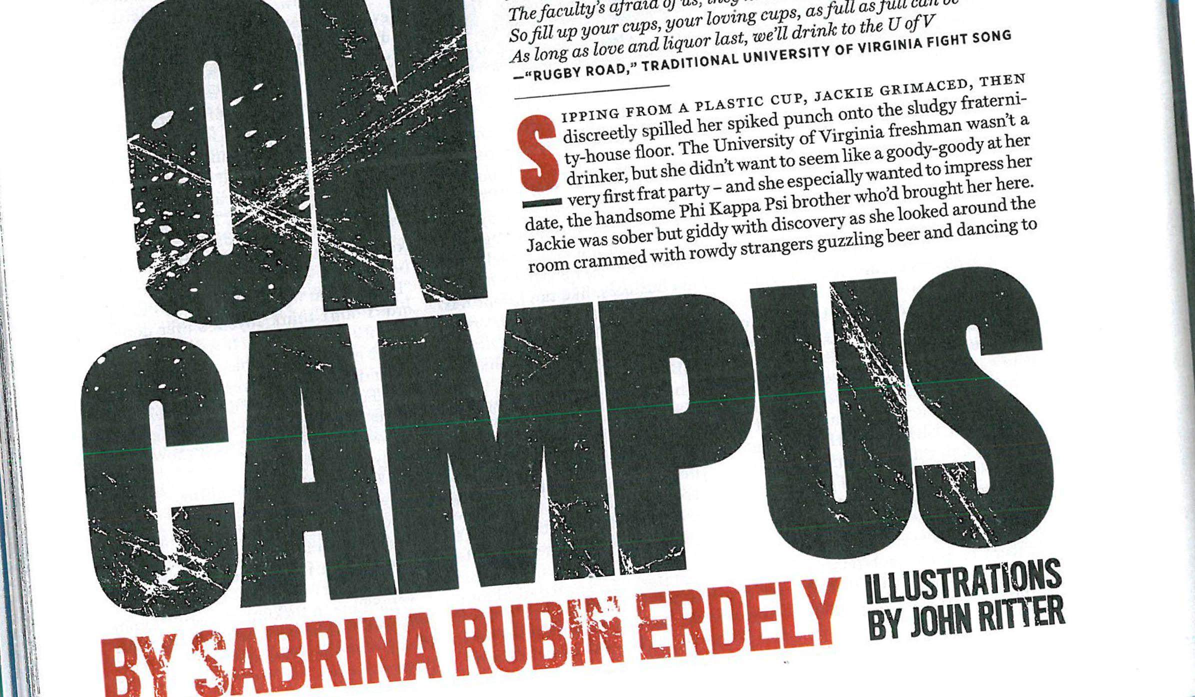 rape on campus