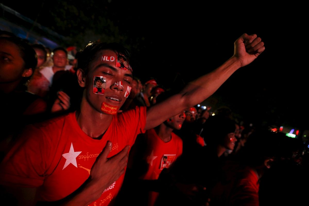 NLD set to win Myanmar election