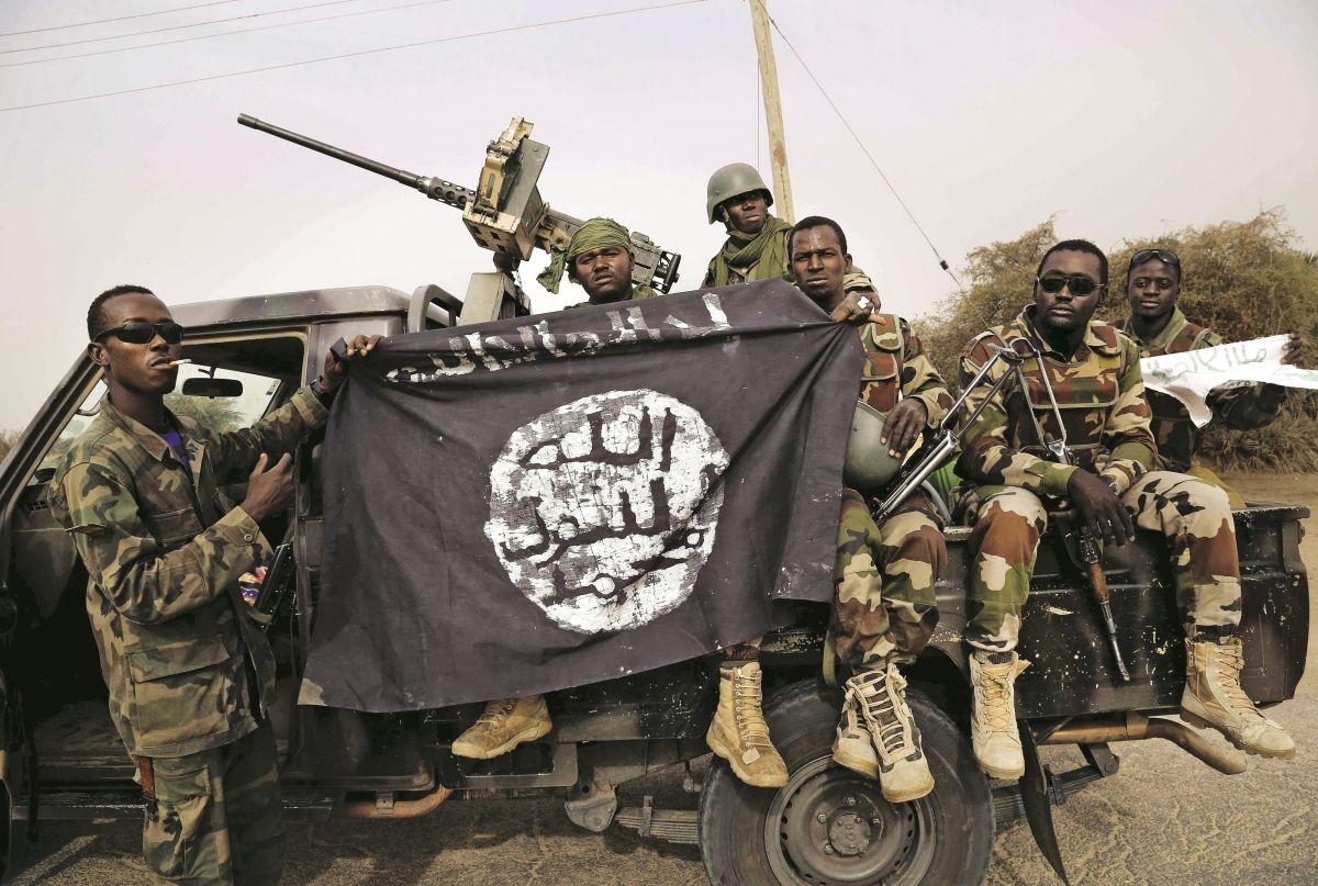 Boko Haram fighters