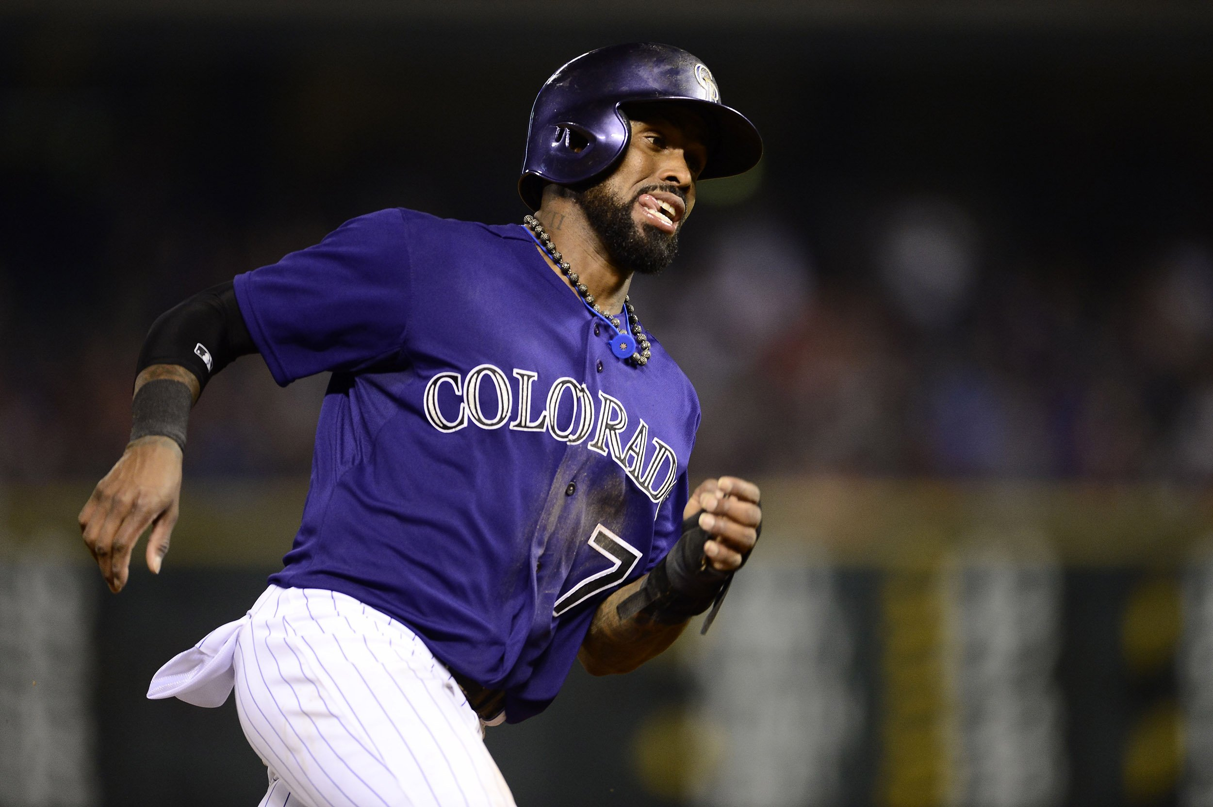 Colorado Rockies Shortstop Jose Reyes Arrested on Domestic Abuse ...