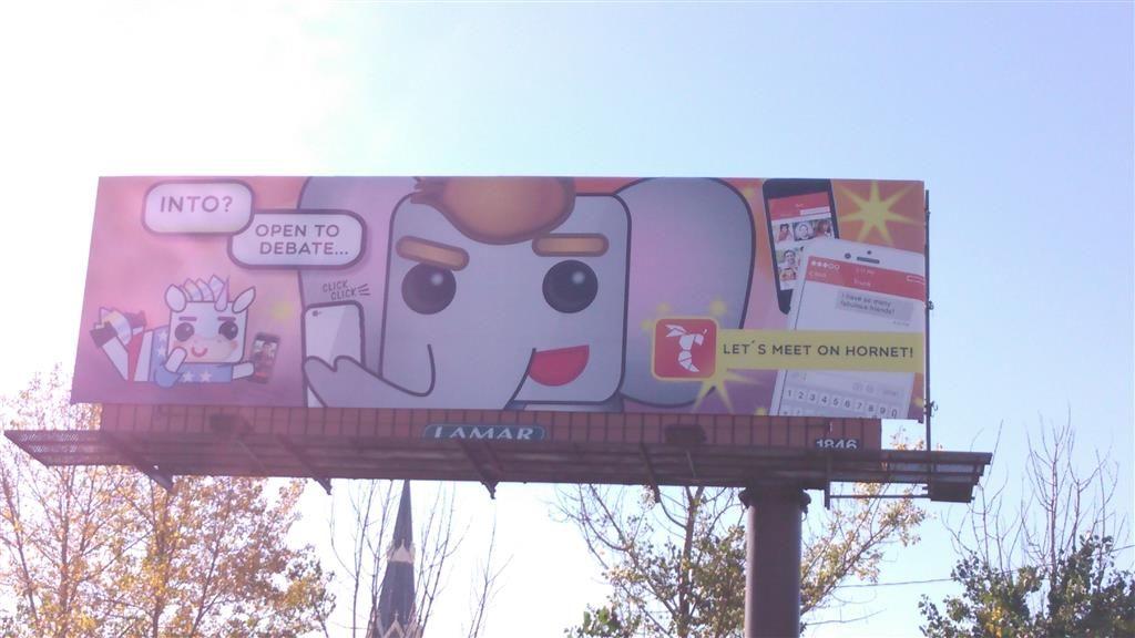 get hornet billboard