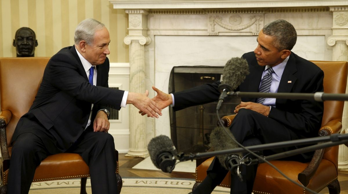 Obama Netanyahu Israel US Middle East