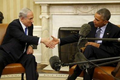 Obama Netanyahu Israel US Middle East