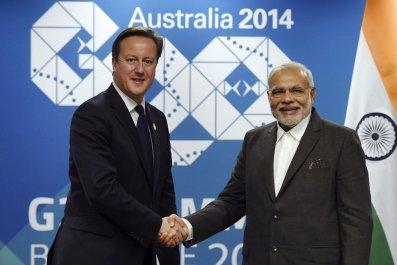 Modi In Britain