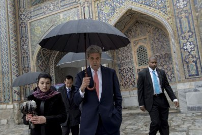 John Kerry in Uzbekistan
