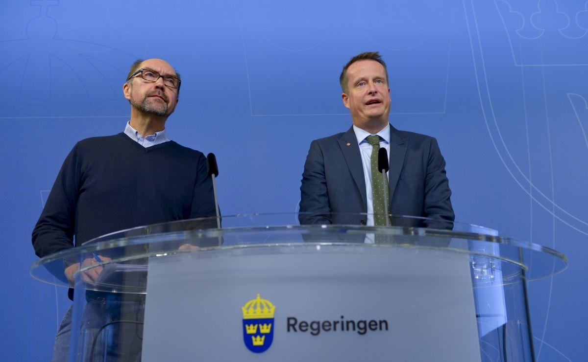 Swedish interior minister Anders Ygeman