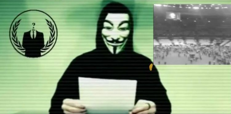 Paris Attacks France Anonymous