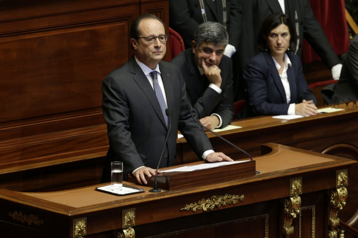 Hollande France ISIS Islamic State