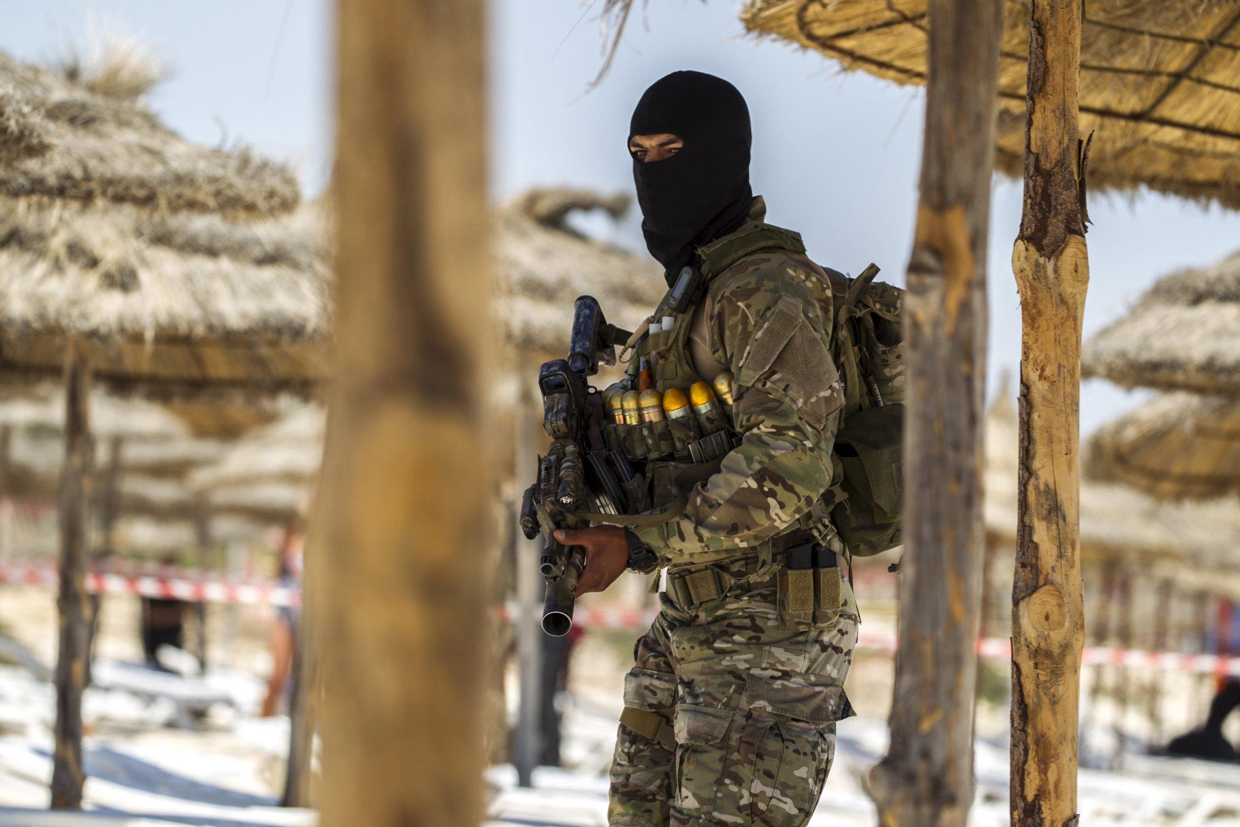 Tunisia Attack Hotel Police Station