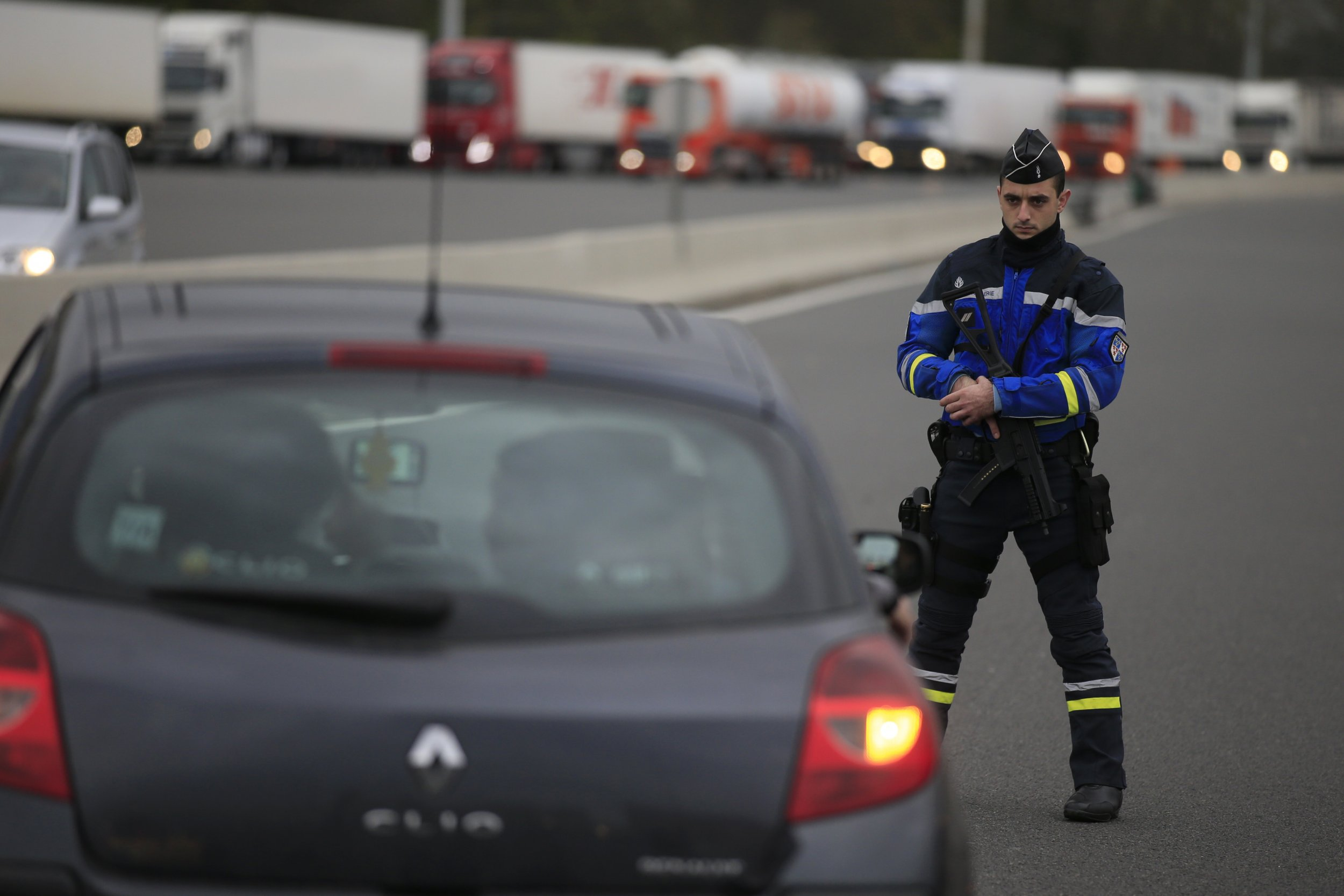 Paris Attacks Security ISIS France