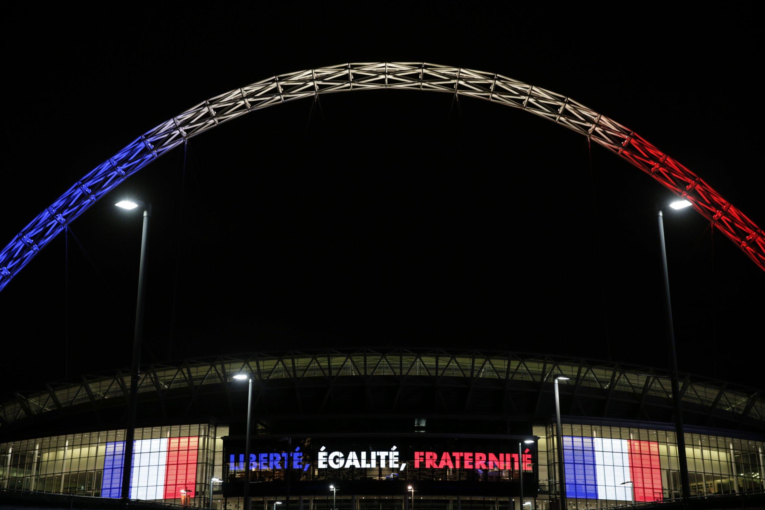 France Wembley England Paris Attacks