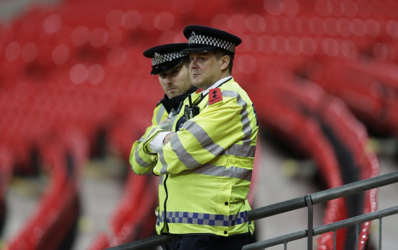 Paris Attacks France England Wembley