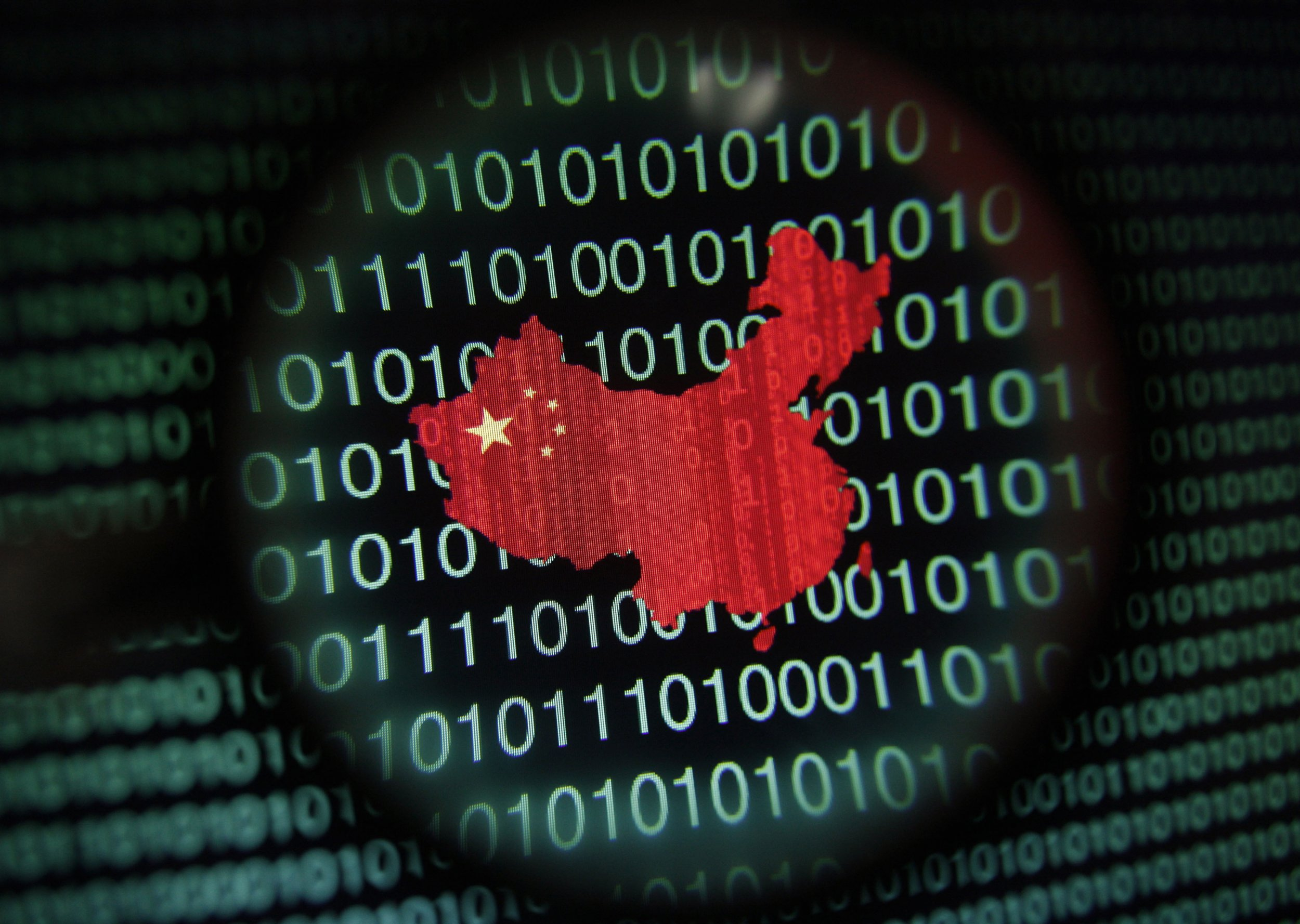 Report US Should Fight Back When China CyberAttacks - Map of us chinese hacking victims