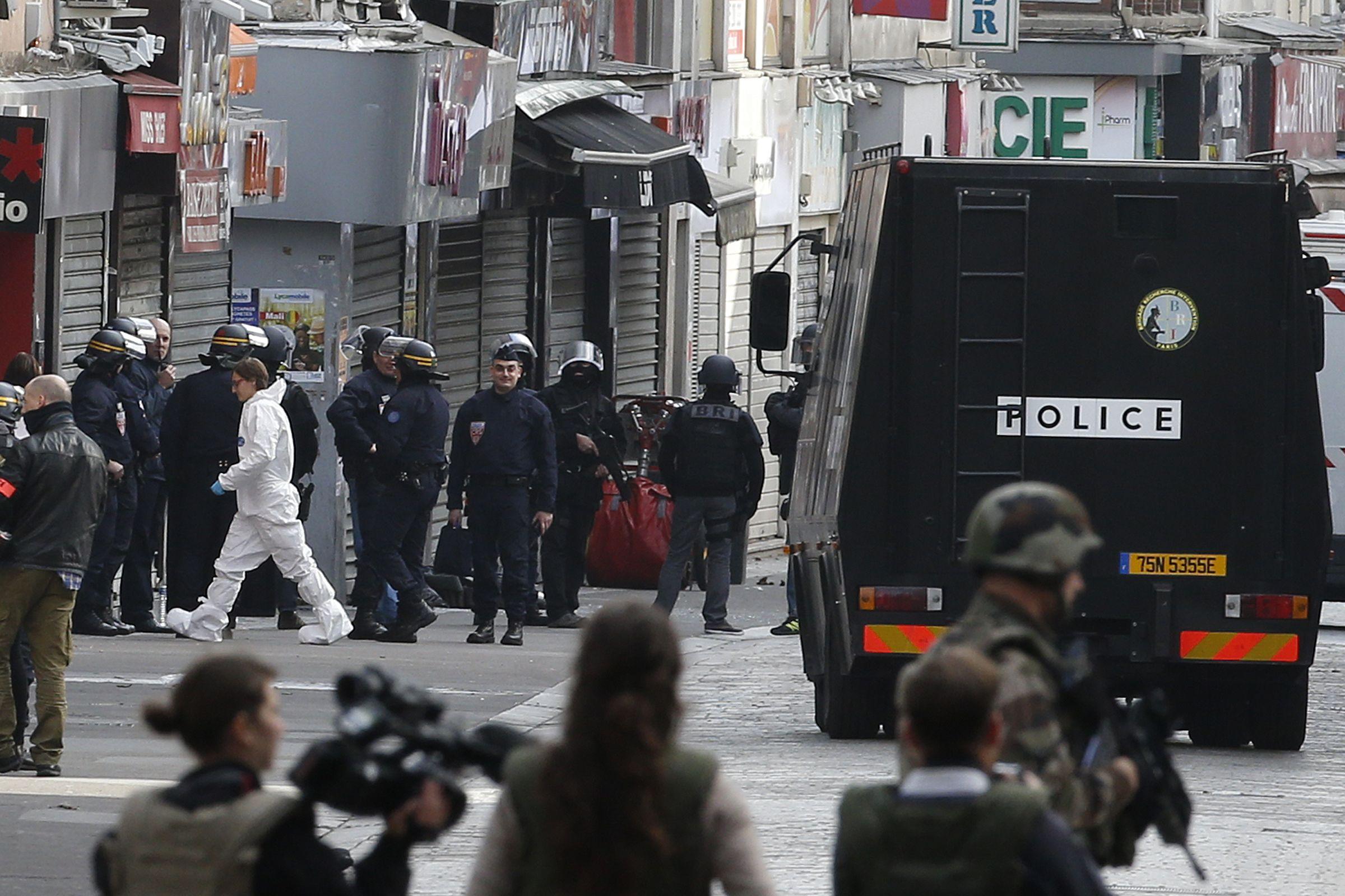 Paris Attacks ISIS Valls France
