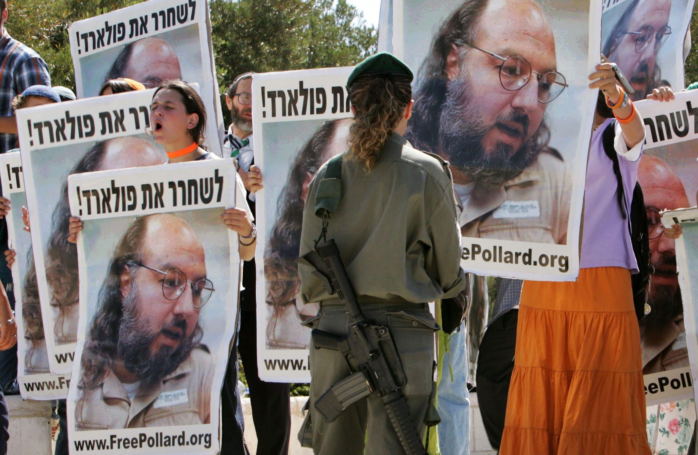 Israel Pollard Middle East Spy