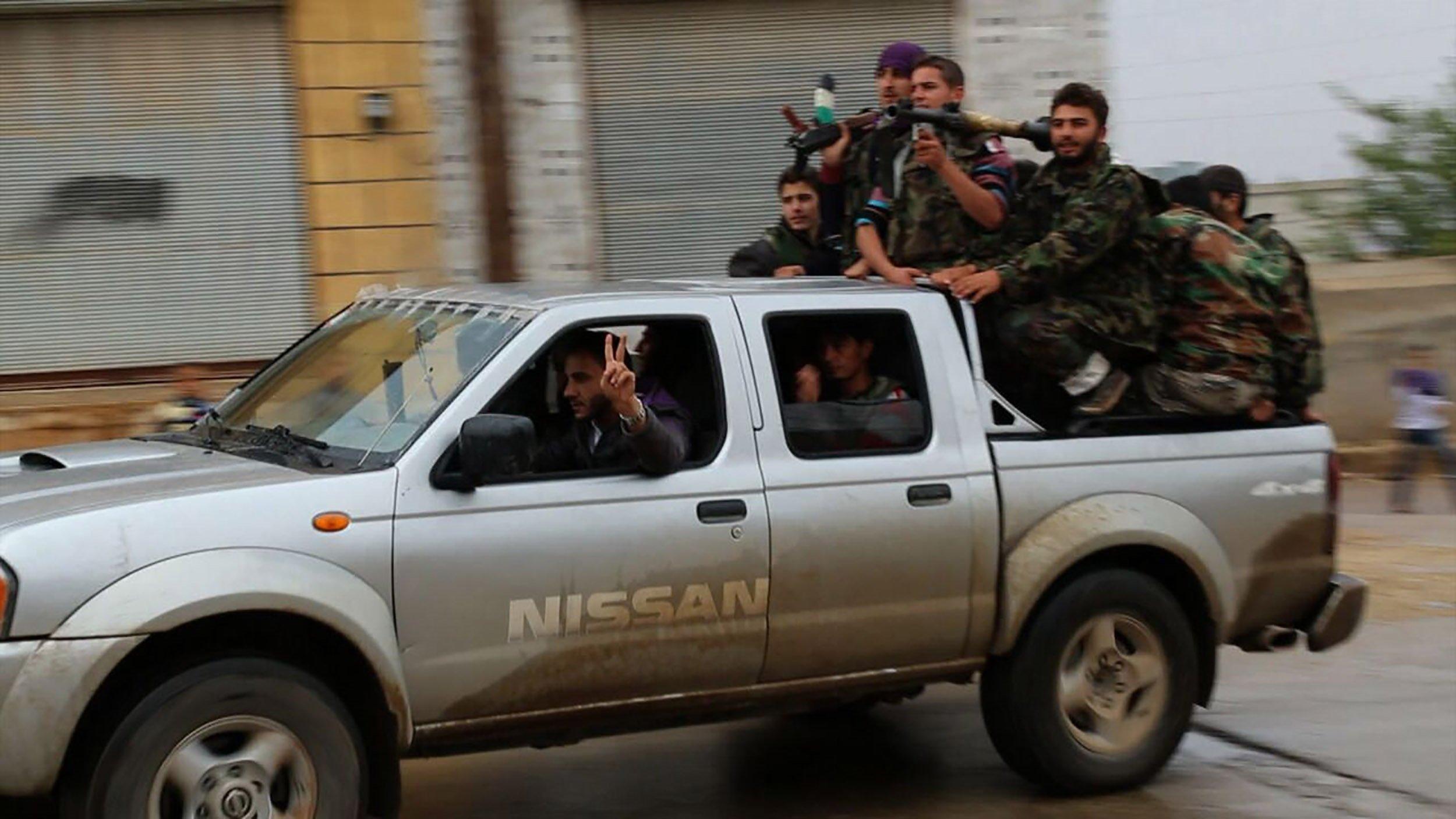 7 Days In Syria Trailer