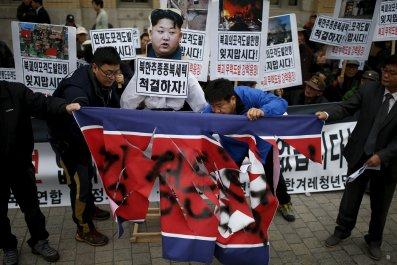 North Korea South Drill Military