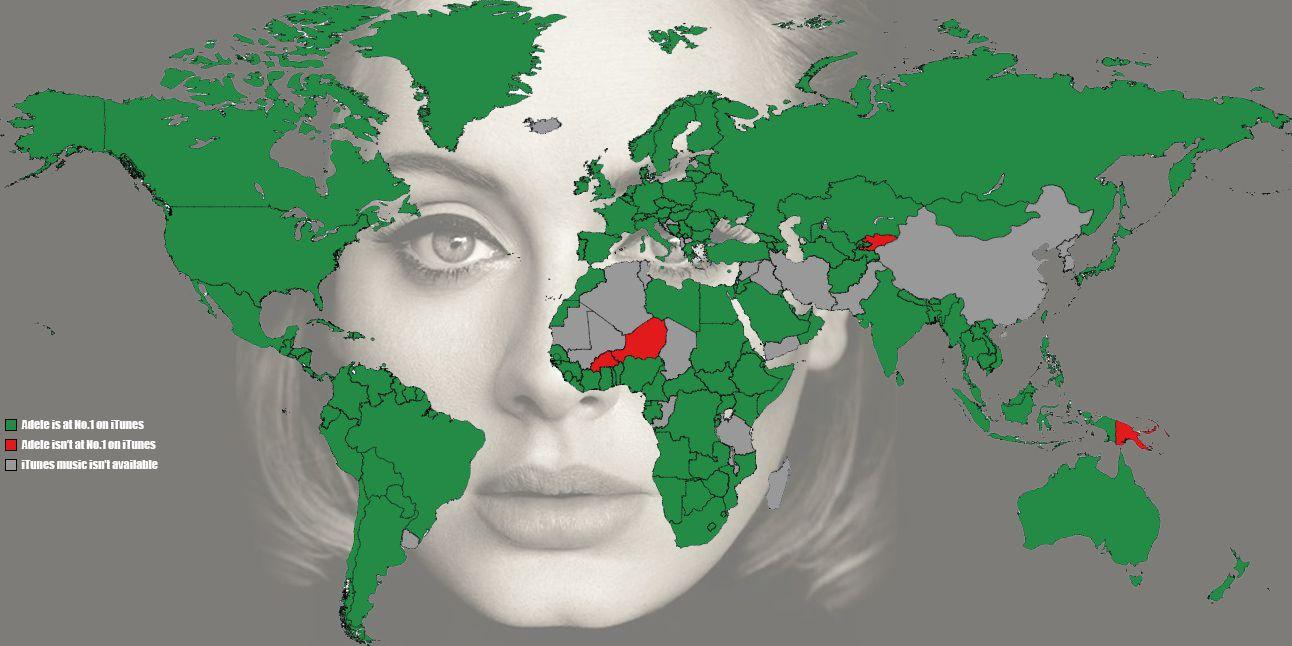 Adele Map